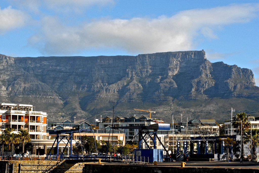 The must-have shot of table mountain