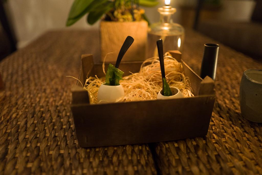 Having a spectacular dinner at Kiin Kiin restaurant - strongly recommendable!!