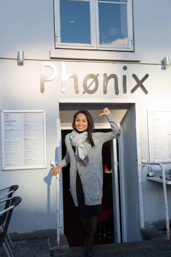 How to write Phoenix in Danish